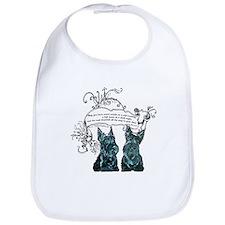Scottish Terrier Proverb Bib