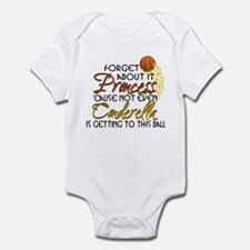 Not Even Cinderella - Basketball Infant Bodysuit