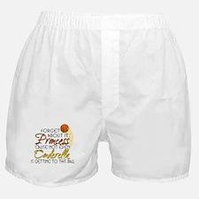 Not Even Cinderella - Basketball Boxer Shorts