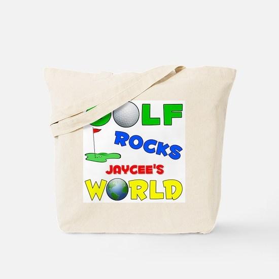 Golf Rocks Jaycee's World - Tote Bag