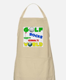 Golf Rocks Isreal's World - BBQ Apron