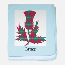 Thistle - Bruce hunting baby blanket