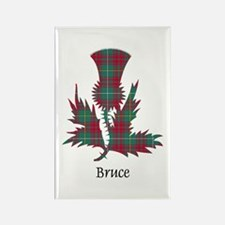 Thistle - Bruce hunting Rectangle Magnet