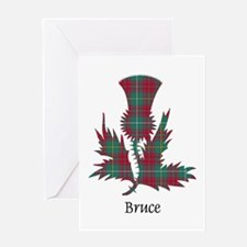 Thistle - Bruce hunting Greeting Card