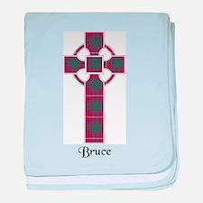 Cross - Bruce baby blanket