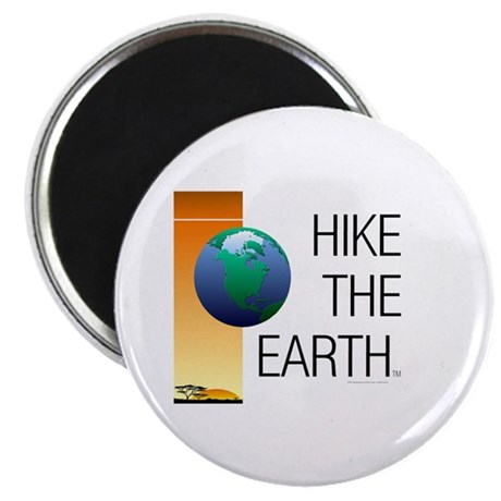 """TOP Hike the Earth 2.25"""" Magnet (100 pack)"""