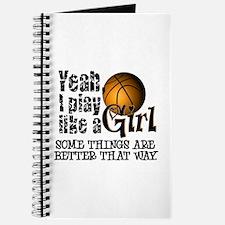 Play Like a Girl - Basketball Journal