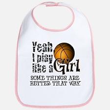 Play Like a Girl - Basketball Bib