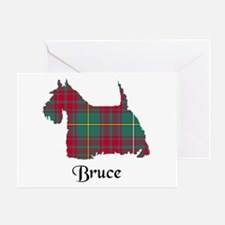 Terrier - Bruce hunting Greeting Card