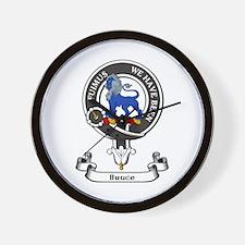 Badge - Bruce Wall Clock