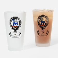 Badge - Bruce Drinking Glass