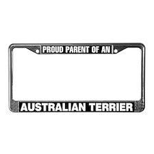 Australian Terrier License Plate Frame