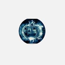 Spooky Jack-o-Lantern Mini Button