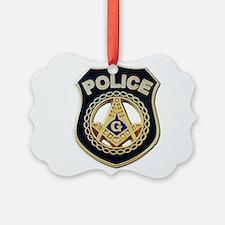 Masonic Police Ornament