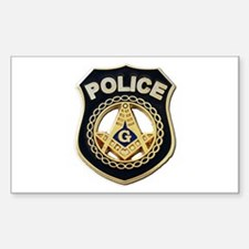 Masonic Police Decal