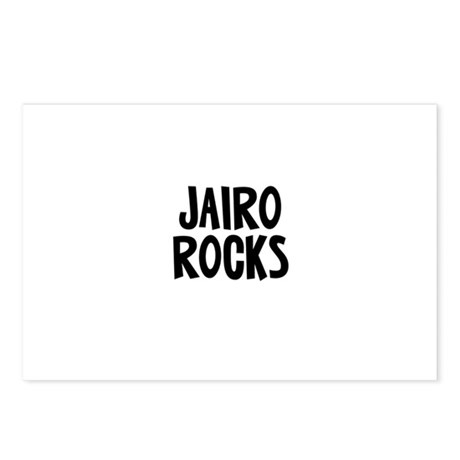 Jairo Rocks Postcards (Package of 8)
