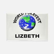 World's Okayest Lizbeth Magnets