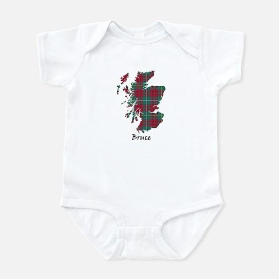 Map - Bruce hunting Infant Bodysuit