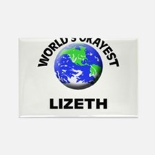 World's Okayest Lizeth Magnets