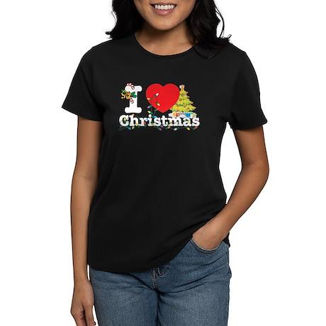 I love Christmas Women's Dark T-Shirt