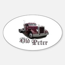 Old Peter Oval Decal