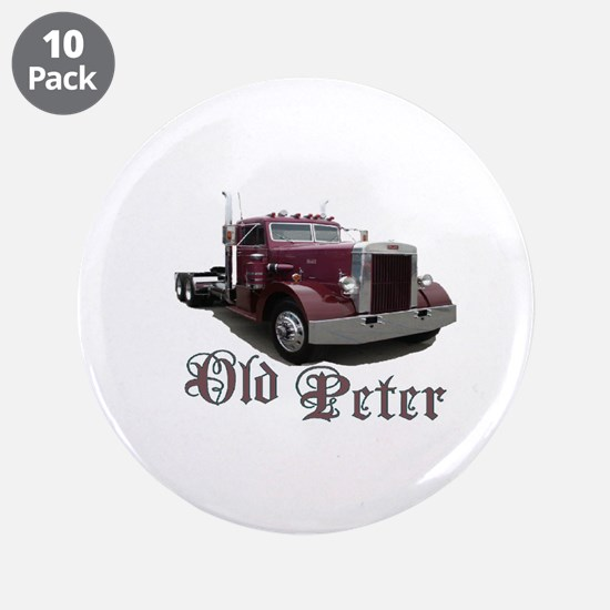"Old Peter 3.5"" Button (10 pack)"