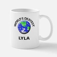World's Okayest Lyla Mugs