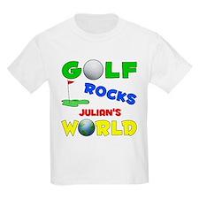 Golf Rocks Julian's World - T-Shirt