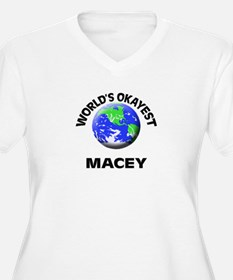 World's Okayest Macey Plus Size T-Shirt