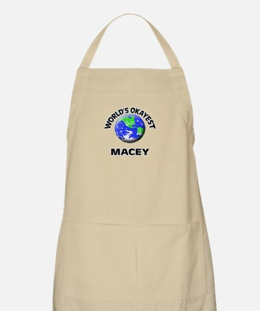World's Okayest Macey Apron