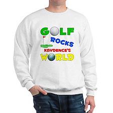 Golf Rocks Kaydence's World - Sweatshirt