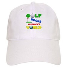Golf Rocks Kaydence's World - Baseball Cap