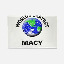 World's Okayest Macy Magnets