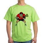 Lacrosse Green T-Shirt