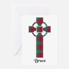 Cross - Bruce hunting Greeting Card