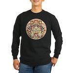 Celtic Deer Long Sleeve Dark T-Shirt