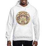Celtic Deer Hooded Sweatshirt