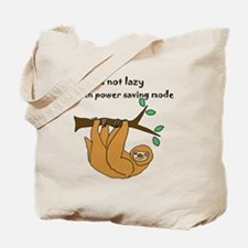 Funny Animal sloth Tote Bag
