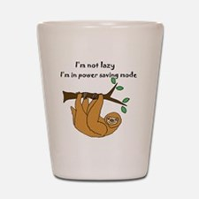Funny Sloths Shot Glass