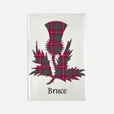 Thistle - Bruce Rectangle Magnet