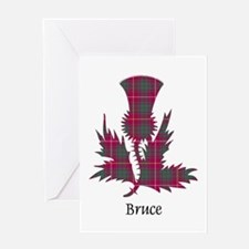 Thistle - Bruce Greeting Card