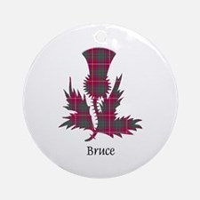 Thistle - Bruce Round Ornament