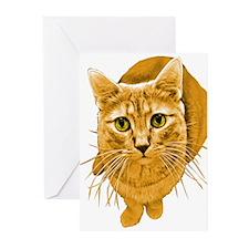 Orange Cat Greeting Cards (Pk of 10)