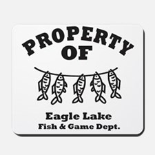 Property of Fish & Game Mousepad