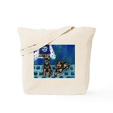 Australian Cattle Dogs sense  Tote Bag