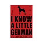 LITTLE GERMAN - Min Pin Magnets (10 pack)