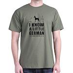 LITTLE GERMAN - Min Pin Dark T-Shirt