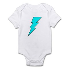 Lightning Bolt 13 Infant Bodysuit