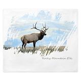 Elk Luxe King Duvet Cover