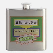 Golfer's Diet Flask